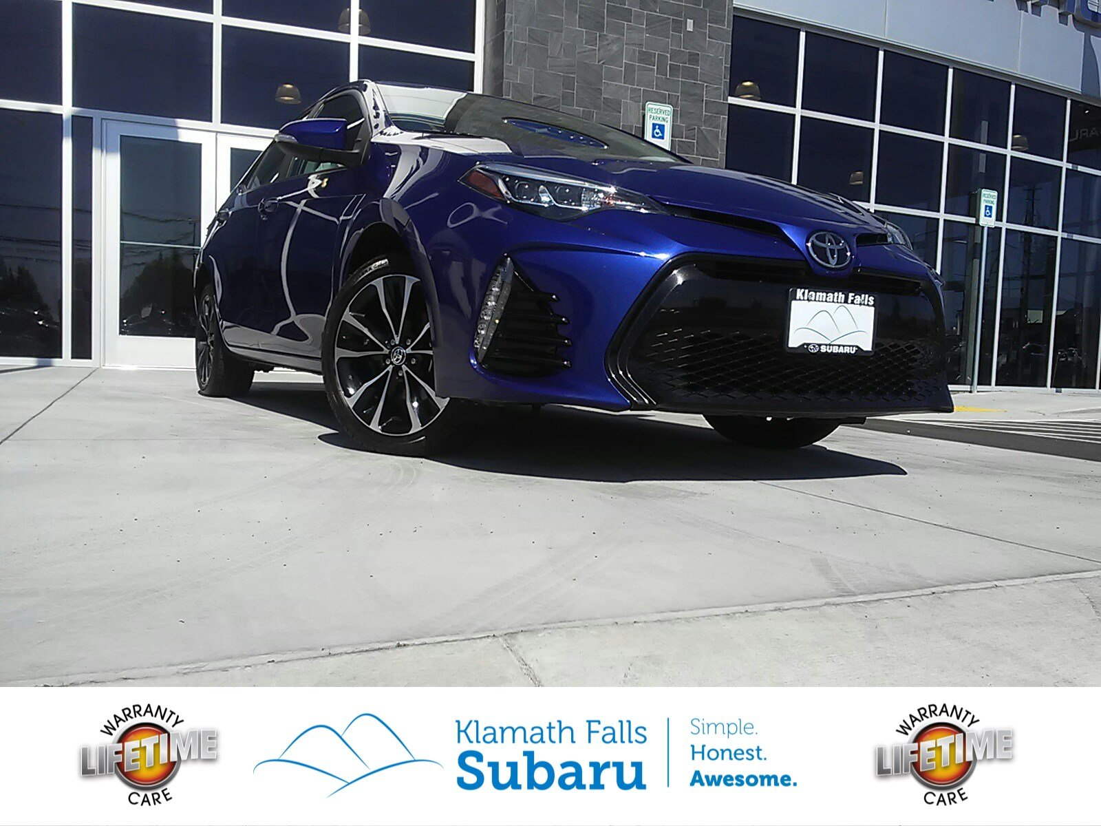 Pre Owned 2017 Toyota Corolla SE 4dr Car in Klamath Falls SP381
