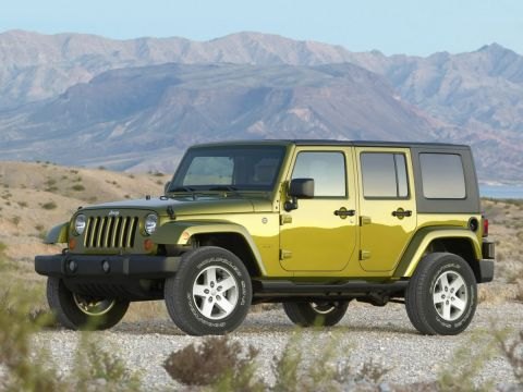 Pre-Owned 2009 Jeep Wrangler Unlimited Rubicon 4WD