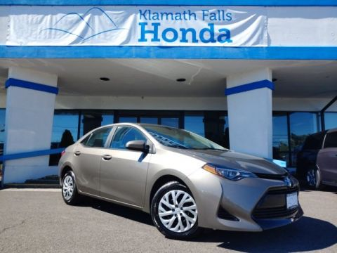 Pre-Owned 2018 Toyota Corolla L FWD 4D Sedan